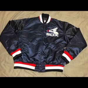 Vintage Starter Chicago White Sox Satin Jacket (L)